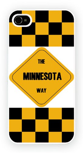 The Minnesota Way USA, iPhone 4 4S, cellulaire cas coque de téléphone cas, couverture de téléphone portable