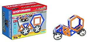 Magformers®, 32 pcs Magnetic XL Cruisers Car Set - Item #63073