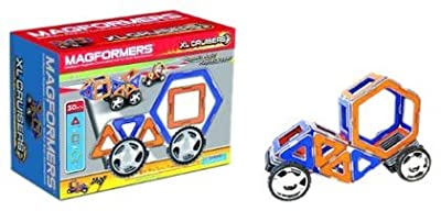 Magformers®, 32 pc Magnetic XL Cruisers Car Set - Item #63073