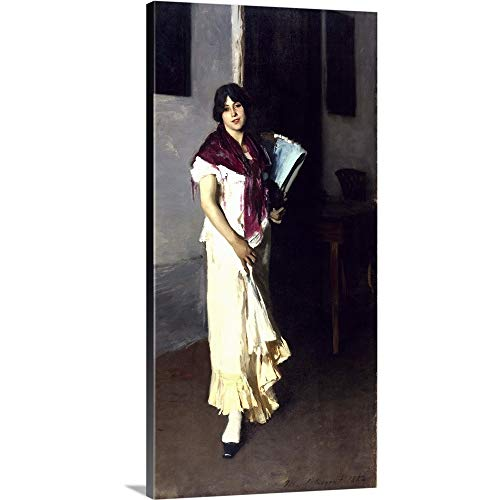 GREATBIGCANVAS Gallery-Wrapped Canvas Entitled A Venetian Woman, 1882 by John Singer (1856-1925) Sargent 30