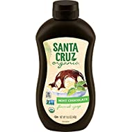 Santa Cruz Organic Mint Chocolate Flavored Syrup, 15.5 Ounces