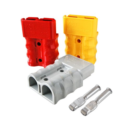 Battery Connector Dual-type (125A),for 4AWG,BMC2M-22-E 2 Pieces Set