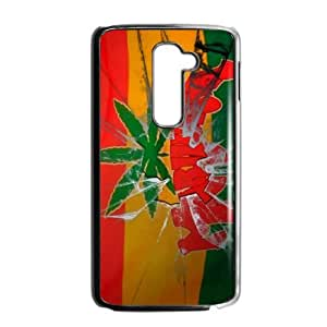 LG G2 Phone Case for Marijuana Leaf grass Classic theme pattern design GMJLGCT874744