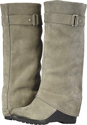 SOREL Women's After Hours Tall Boot (8 B US, Quarry)