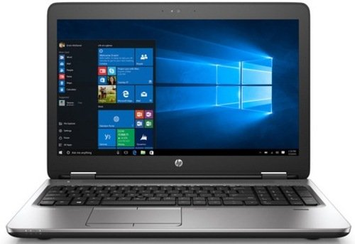 HP 2FU03US ProBook 650 G2 Laptop PC - Intel Core i5-6300U 2.4 GHz Dual-Core Processor - 8 GB RAM - 128 GB SSD - 15.6-Inch Display - Windows 10 Professional (64-bit) - Black (Certified Refurbished)