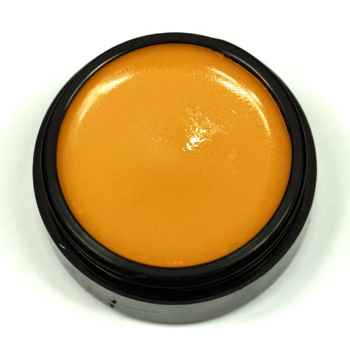 Special Eye Fx (Graftobian Professional Theatrical Creme Makeup - 1/4oz Eye Shadow/Lining Shades (Deep Yellow))