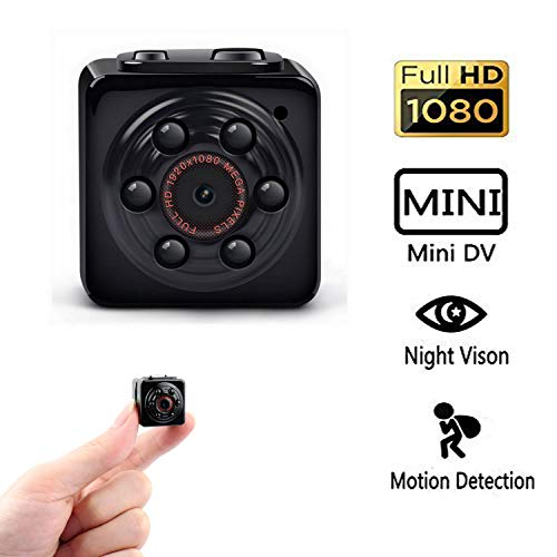 Mini Camera, PANNOVO Sport Mini DV HD 1080P 12.0MP Dash Camera DVR Motion Detection Video Camera with Infrared Night Vision