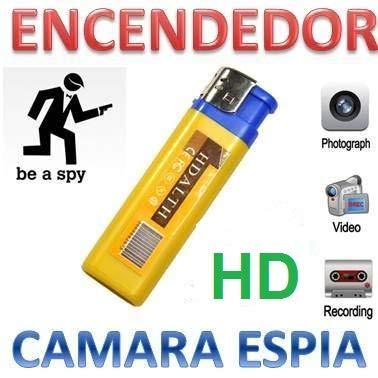 Electrolandia® Mechero Camara Espia HD