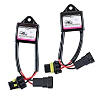 Zone Tech HID Kit Computer Warning Canceller & Anti Flicker (Pair)
