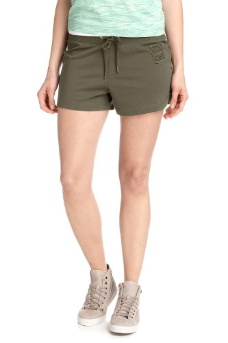 ESPRIT - Pantalón corto para mujer Verde (Avocado 340)