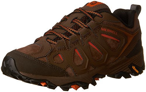 Merrell Men's Moab FST LTR Hiking Shoe, Dark Earth, 9 M US (Moab Footwear)