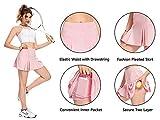 Women's Pleated Tennis Skirts Mini Athletic Skort