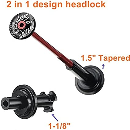 """MTB Tools 1.5/"""" to 1 1//8/"""" Headset Press Drivers for Tapered Headsets"""