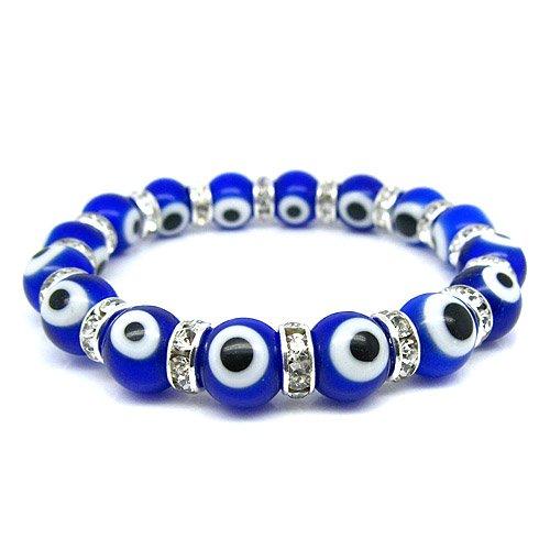 Evil Eye Murano Glass Bead Protection Bracelet in ()