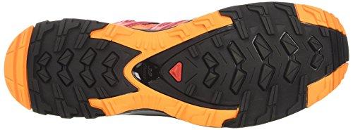 Salomon XA Pro 3D W, Zapatillas de Running Para Mujer Naranja (Living Coral / Black / Virtual Pink)