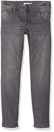NAME IT Jungen Jeanshose Nitted Slim/Slim Dnm Pant Nmt Noos, Grau (Dark Grey Denim), 146