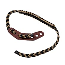Dovewill Outdoor Archery Hunting Shooting Compound Bow Wrist Sling Strap Braided Paracord Cord Accessories
