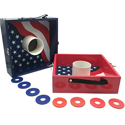 SPORT BEATS Washer Toss Game Premium Wood washers Game Yard Game-3 Options to Choose from!
