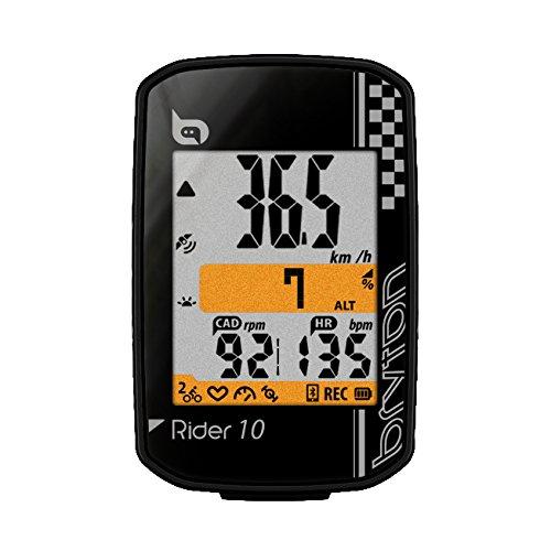 """Bryton Rider 10 GPS Cycling Computer (2.0"""", Rider 10E (Black))"""