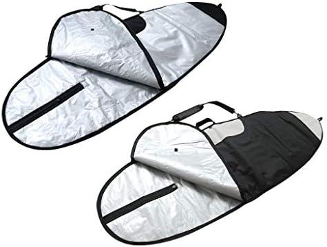 Toygogo 2ピースプレミアムサーフボードバッグSurfboad保護ギア交換耐久性