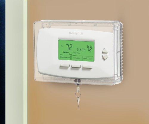 Honeywell CG511A1000 /C Protector termostato mediano con estante interno para evitar la manipulación
