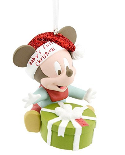 Disney Hallmark Mickey Mouse Babys First Christmas 2014 Ornament
