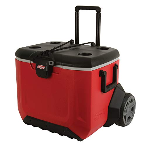 Coleman Rugged A/T Wheeled Cooler, 55 Quart