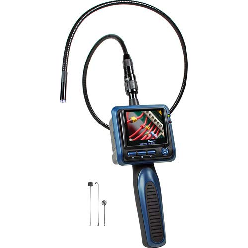 Whistler WIC-1229C Inspection Camera Black 2.4 in Color LCD Monitor 3.3 ft tube