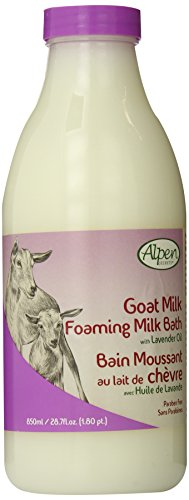 Alpen Milk - Alpen Secrets Goat Milk Foaming Milk Bath with Lavender Oil, 28.7-Fluid Ounce (Pack of 2)