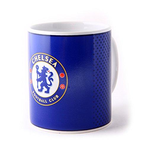 Chelsea FC Halftone 11oz Boxed Mug