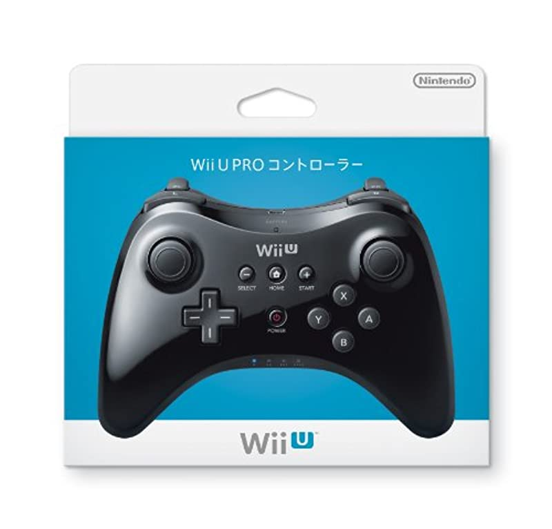 Wii U PRO 콘트롤러 (kuro)