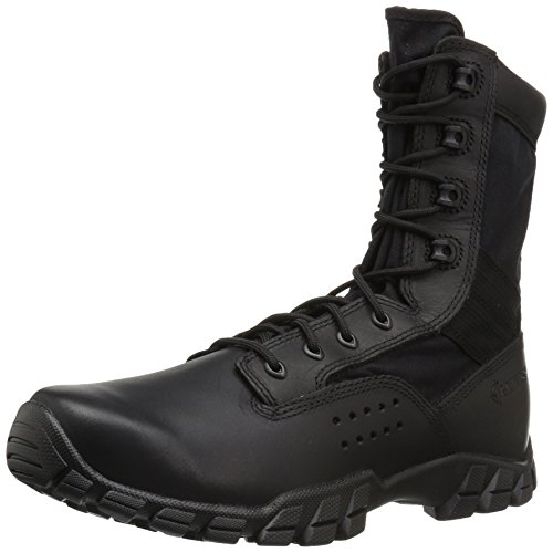 Bates Men's Cobra Hot Weather Side Zip Military and Tactical Boot, Black, 12 M US