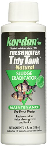 KORDON  #39664  Freshwater Tidy Tank for Aquarium, 4-Ounce