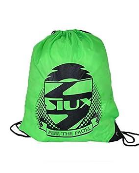 Siux Bolsa Mochila Gymsack Verde Fluor 2019: Amazon.es ...