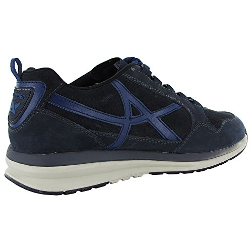 Allrounder Van Mephisto Mens Escudo Sneaker Donkerblauw G Nubuck / O Suede