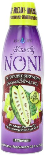 AgroLabs Naturally Noni 2X, 32-Fluid Ounce Bottle