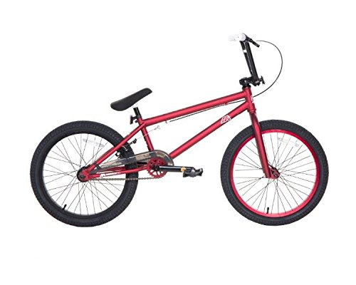 Dave Mirra Boys 8110-06T 20-Inch Redefin/Mirraco Bike, Bright Red/Black/White by Dave Mirra B00PL9LCI4