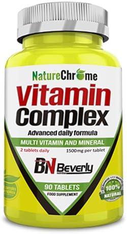 Beverly Nutrition Vitamin Complex - 90 comprimidos de 1500 ...