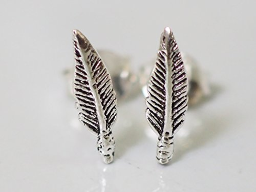 925-sterling-silver-earring-cartilage-for-women-ear-stud-helix-tragus-very-tiny-feather-3-8-10mm-m3