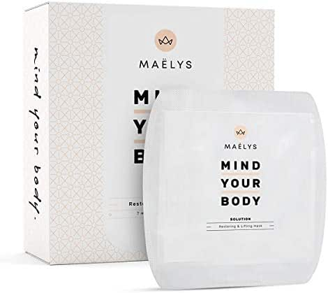 Glowing Skin 10 Minutes Easy-To-Use Treatment- ALL IN ONE Restoring, Lifting Sheet Masks and Smooth Wrinkles - 7 Masks