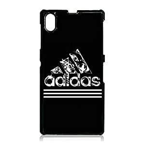 Classical Design Adidas Logo Phone Case for Sony Xperia Z1 Luxury Adidas Series Phone Case