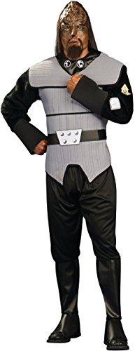 Deluxe Adult Klingon Star Trek Costumes (Deluxe Klingon Adult Costume - Standard)