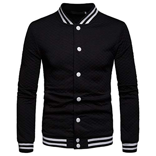 Plain Shirts for Men with Pocket,MILIMIEYIK Blousess Black