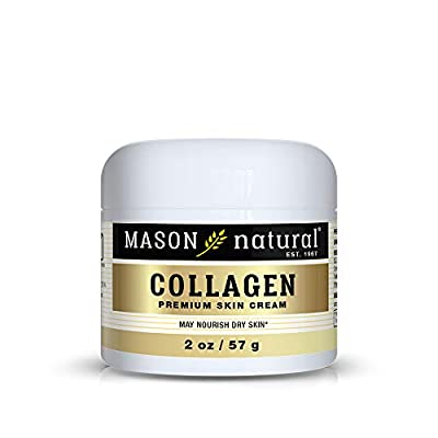 Mason Natural, Collagen Beauty Cream, Pear Scent, 2 Ounce Jar (Pack of 3), 100% Pure Collagen Anti-Aging Moisturizer, Promote Elasticity and Strength in Skin - 4002608 , B00E9MD3V8 , 454_B00E9MD3V8 , 16.99 , Mason-Natural-Collagen-Beauty-Cream-Pear-Scent-2-Ounce-Jar-Pack-of-3-100Phan-Tram-Pure-Collagen-Anti-Aging-Moisturizer-Promote-Elasticity-and-Strength-in-Skin-454_B00E9MD3V8 , usexpress.vn , Mason Natur