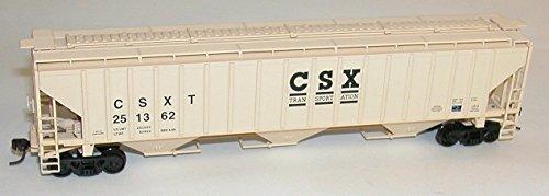 - HO KIT PS-4750 3-Bay Covered Hopper, CSX