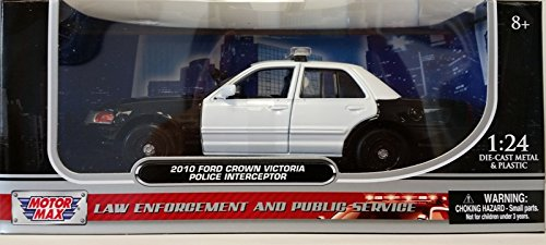 Victoria Police Crown (Motormax 1:24 2010 FORD CROWN VICTORIA POLICE INTERCEPTOR)