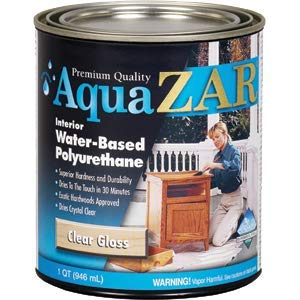 UGL 32412 Qt Gloss Aqua ZAR 324 Water Based Polyurethane - 4ct. Case
