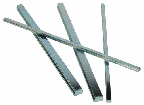(Steel Step Key Stock For Shafts, Zinc Plated, 5/16