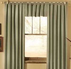 Sage Solid Insulated Patio Door Tab Top Curtains Sage Patio Door Panels 160 X 84