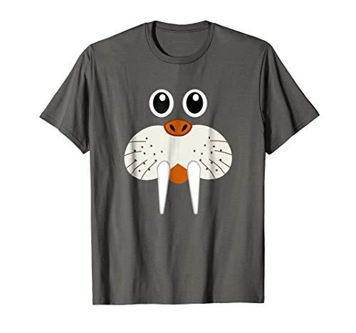 Cute Walrus Animal Costume - Funny Halloween T-Shirt